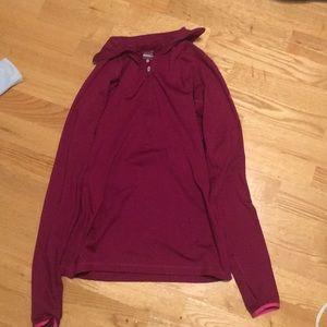 Jackets & Blazers - Fushia (pink) long sleeve Nike jacket
